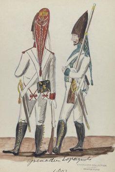 Regimientos de Infantería 1807-08 Granaderos