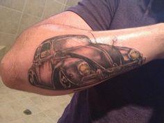 My VW Beetle tattoo