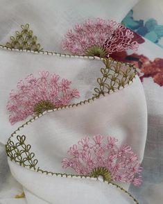 @leyla_oyasepeti  #igneoyasi #iğneoyası #igneoyası #igneoyasisevenler #igneoyalari #igneoyalarim #dantel #mekik #örgü #oya #pike #patik… Thread Art, Needle And Thread, Crewel Embroidery, Ribbon Embroidery, Gowns For Girls, Needle Lace, Button Art, Bargello, Thread Crochet