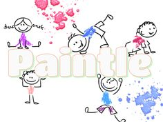 Have fun with Paintle.com