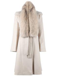 ALBERTA FERRETTI Fox Fur Coat