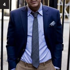 Menswear 101: Perfect Blue Blazer | Blake London