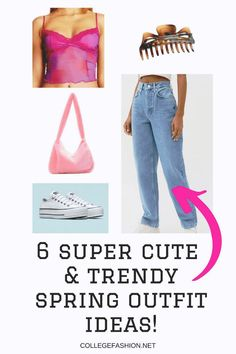 Super cute goring outfit ideas for 2021! Casual Spring outfits for going out. These going out spring outfits will fit your spring aesthetic. Check out these spring outfit ides for 2021 now! Cute Spring Outfits, Simple Outfits, Trendy Outfits, Cute Outfits, 2000s Clothing, New Fashion Trends, Fashion Tips, Fashion Inspiration, White Strappy Heels