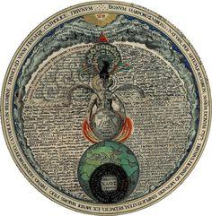 Byzantine Azoth.Flath earth!inner earth.underwold (great deep)