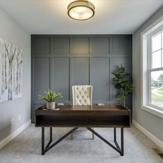 Hanson Builders New Homes For Sale - Minneapolis / St. Accent Wall Panels, Dark Accent Walls, Accent Wall Colors, Room Wall Colors, Accent Walls In Living Room, Light Grey Walls, Accent Wall Bedroom, Living Room Grey, Paint Accent Walls
