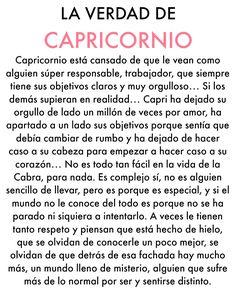 LA VERDAD DE CAPRICORNIO