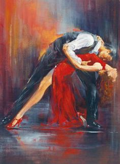Pedro Alvarez Tango Nuevo II painting is shipped worldwide,including stretched canvas and framed art.This Pedro Alvarez Tango Nuevo II painting is available at custom size. Shall We ダンス, Tango Art, Dance Paintings, Oil Paintings, Illustration Art, Illustrations, Love Art, Oeuvre D'art, Framed Art Prints