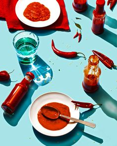 art direction | food styling still life photograhy - Hot Sauce, USA for Fast Company