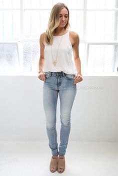 frankie jeans - light wash | Esther clothing Australia and America USA, boutique online ladies fashion store, shop global womens wear worldwide, designer womenswear, prom dresses, skirts, jackets, leggings, tights, leather shoes, accessories, free shipping world wide. – Esther Boutique