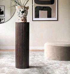 Vase, Living Room, Interior Design, Wood, Inspiration, Furniture, Home Decor, Style, Decorations