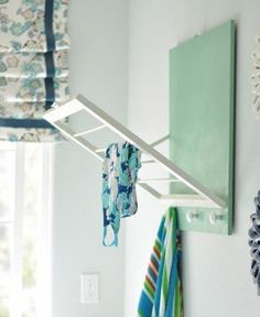 Simple Laundry Room Space Saving Tips. consider some of these space saving tips that may help you organize the room a little better. #Laundry #organization #ideas