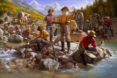 COLORADO GOLD RUSH - Some miners became very rich, but most miners led a difficult life and left the mining camps with less money than what they came. The gold they did discover was oftentimes used to pay for housing, food, drink, and living supplies. The prices were high since there were few if any stores in which to purchase needed items.