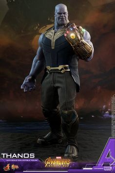 Hot Toys Thanos from Avengers Infinity War movie Adventure Marvel 74ba2012093