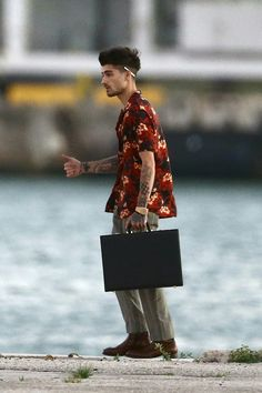 Zayn on location shooting a new music video in Miami, FL - March 3, 2018