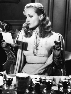 "Carole Lombard starring as Maria Tura in a scene from ""To Be or Not To Be.""  [1942]"