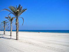 Playa de Valencia.