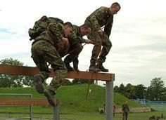NATO obstacle course/ NATO překážková dráha