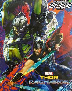 Late Breaking News!  First Thor Ragnarok Promotional Poster is revealed. Eleven months before the movie is coming out.  Thanks Marvel!