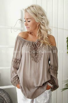 Style By Donna Soft Summer, Off Shoulder Blouse, Long Sleeve, Sleeves, Tops, Women, Style, Fashion, Curve Dresses