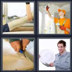 4 fotos 1 palabra pintor - Pulsa sobre la foto para ver la respuesta