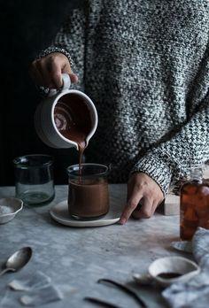 London Fog Hot Chocolate + Mapled Whipped Cream - The Kitchen McCabe