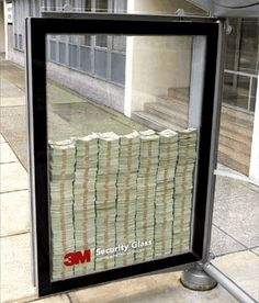3M Safety Glass..