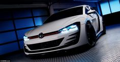 Volkswagen has no plans to put the Design Vision GTI into production