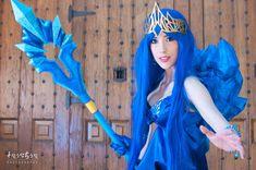 Janna Frost Queen Cosplay! *---*
