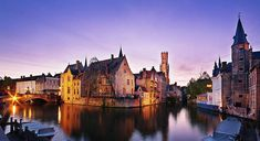 Bruges at Dusk by Barry O Carroll Photography Types Of Lighting, Bruges, Weather Conditions, Dusk, Belgium, Fine Art America, Building, Photography, Travel
