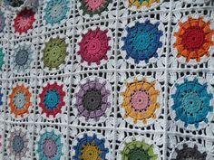 Crochet blanket by Gemhaaktdoormarijtje on Etsy, €69.00