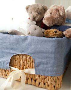 Quarto de bebê: azul e bege - Constance Zahn | Babies & Kids GOSTO