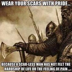 Neo-Norse-Paganist Viking - How does it feel to be so weak. That words can hurt you? Warrior Spirit, Warrior Quotes, Great Quotes, Me Quotes, Inspirational Quotes, Qoutes, Quotations, Motivational Quotes, Viking Quotes