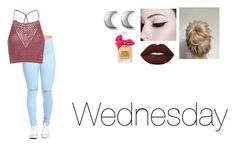 """""""Wednesday"""" by isabellasmall ❤ liked on Polyvore featuring Glamorous, Lime Crime, ChloBo and Juicy Couture"""