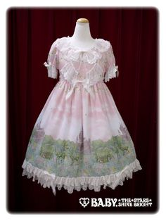 Baby, the stars shine bright Fairy Topialium ~ Promise in the Forest of Trifolium~ one-piece dress