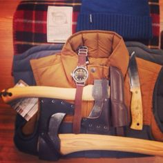 Needing gift ideas for your lumberjack? These are a few of our favorite things... www.rockcreek.com/gifts