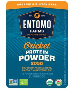 Cricket Flour Cricket Powder Organic Gluten Free http://entomofarms.com/product/gluten-free-cricket-flour/ Buy Cricket Flour Now