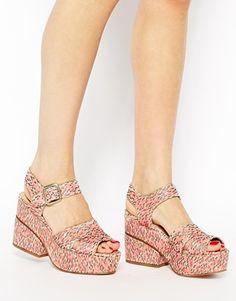 ASOS HUMMER Heeled Sandals