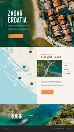 5 Beautiful Travel Website Designs for Your Inspiration on Behance