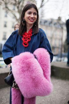 Oct 5 Fall Trend Alert: Fur Stoles!