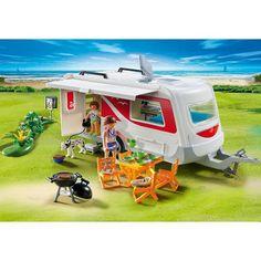 Playmobil 5434 : Caravane Playmobil - Magasin de Jouets pour Enfants