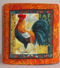 Kitchenaid Mixer Cover Rooster Mixer Cover by PatsysPatchwork