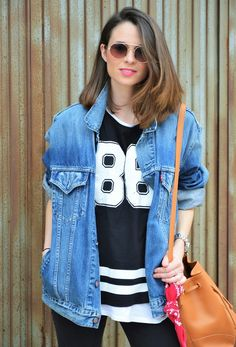 #casual #day #look #denim #levis #sporty #port #look #outfit #ootd