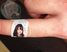 Healing touch: A Band-Aid bearing the likeness of AKB48 member Yuki Kashiwagi is one of many branded items created for the idol group's predominantly male fan base. Recently AKB's sister group HKT48 has been criticized for a song with sexist lyrics, which was written by Yasushi Akimoto. Despite this promotion of traditional gender roles in Japan, women often have more agency in relationships than men.