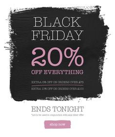 Black Friday Cheeky Email Newsletter