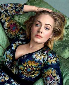 Adele, gorgeously shot by Annie Leibovitz for the cover of Vogue, March 2016.