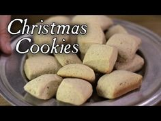 Early American Christmas Cookie 18th century cooking with Jas Townsend and Son S5E15 - YouTube