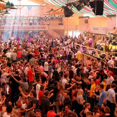 Cannstatter Volksfest in Stuttgart - 2nd largest beerfest in the world
