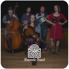 "Logo design for ""Monocle Band""."