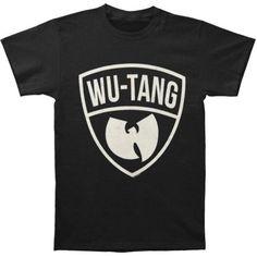 Wu Tang Clan Men's Classic Logo Pick T-shirt X-Large Black
