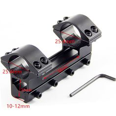 Free Shipping Quick Release Scope Mount 25.4mm 11mm Dual Ring Cantilever HeavyDuty Rifle scope Mount Picatinny Weaver Rail Hunti